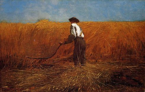 """""""Veteran in a New Field,"""" by Winslow Homer"""