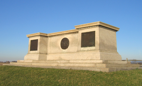 The Massachusetts State Monument at Antietam