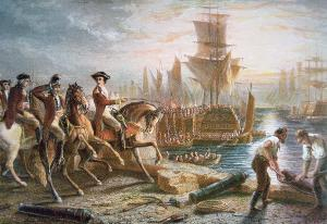 The British Evacuation of Boston, March 17, 1776