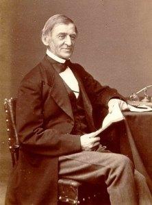 Ralph Waldo Emerson (1803-1882) in 1873