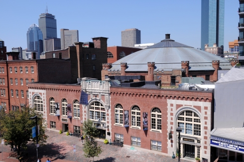 The Cyclorama Building, Tremont Street, Boston's South End. The original home of the Boston/Gettysburg cyclorama painting. Photo courtesy of Craig Bailey/Perspective Photo