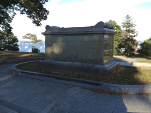 Sarcophagus on Cole's Hill, Plymouth