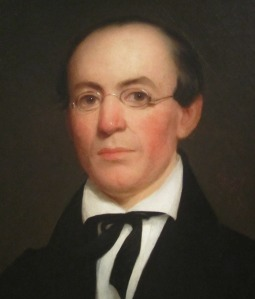 William Lloyd Garrison (1805-1879) in 1833.