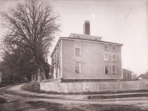 The Winslow House was the home of Lydia Jackson. She married Ralph Waldo Emerson in the front parlor. It has since been greatly enlarged and ornamented and is presently owned by the Mayflower Society of Descendants.