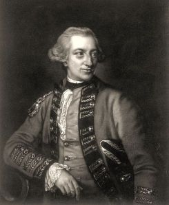 Lord Hugh Percy (1742-1817), Duke of Northumberland, led the First Brigade out of Boston on March 30, 1775