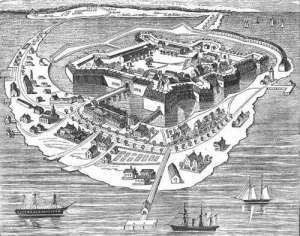 Fortress Monroe at Hampton Roads, Virginia