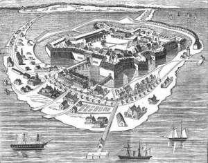 Fortress Monroe at Hampton Roads, Virginia