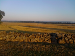 The site of Pickett's Charge.