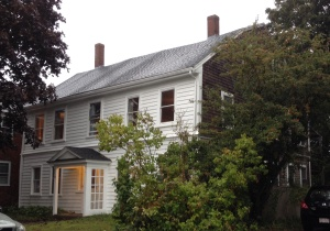 Capt. Thompson Phillips House, Plymouth, built c. 1725