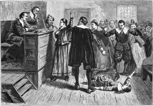 The Salem Witch Trials as depicted in 1876