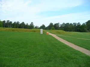 The site of Fort Stedman today. Courtesy of Wikimedia Commons.