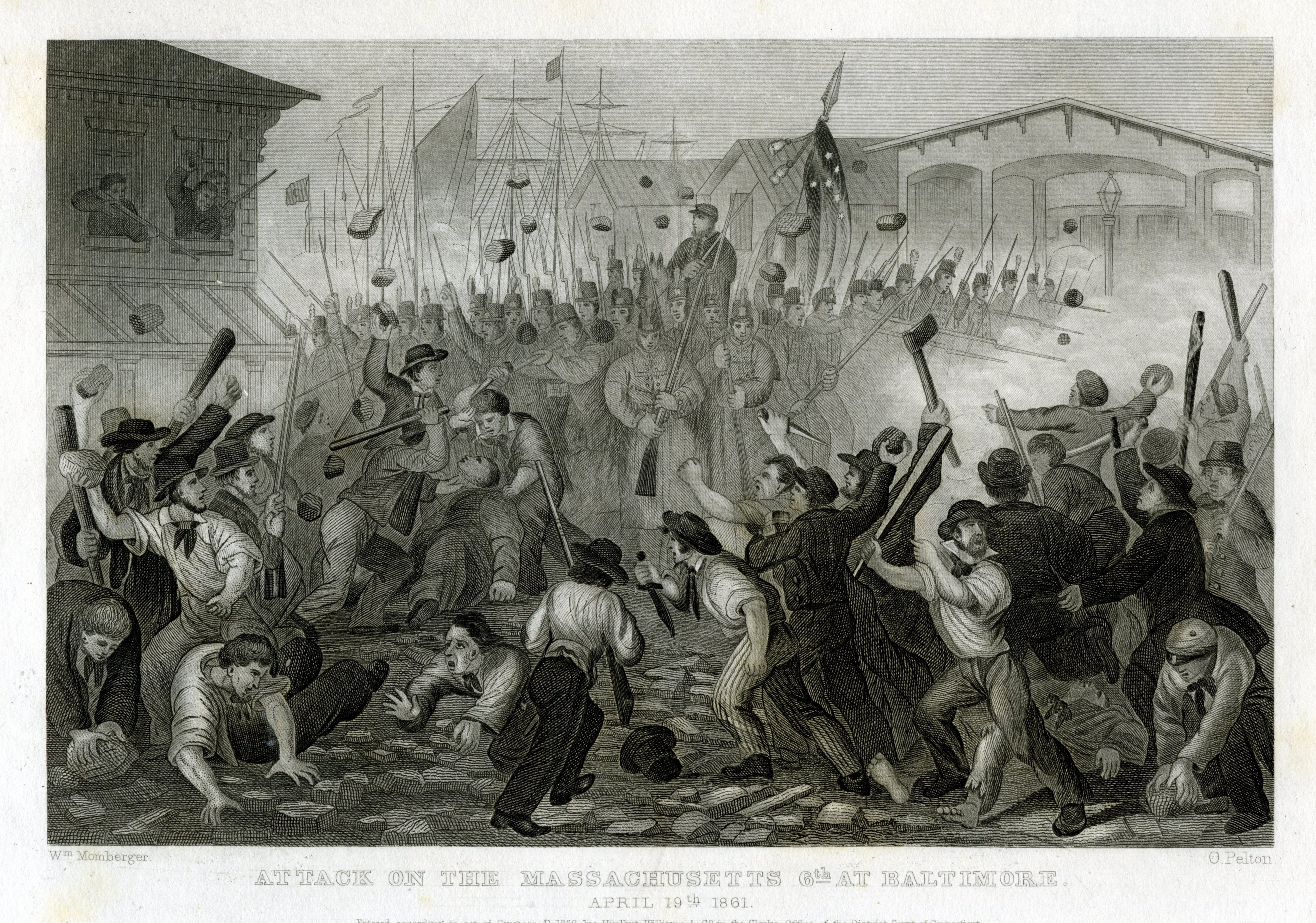 6th Massachusetts and the BALTIMORE RIOT | Historical Digression