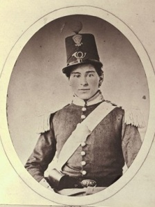 Private Luther Ladd, 6th Massachusetts Militia, (1843-1861)