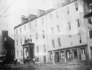 The Union Hotel Hospital in Georgetown where Julia Kendall was employed