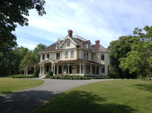 The 1878 mansion built on the ashes of the Thomas-Webster estate