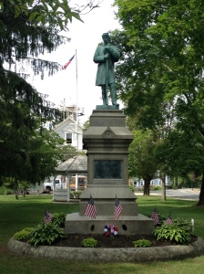 Kingston Civil War Memorial, erected 1883