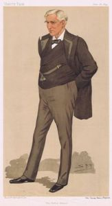 Ambassador Bayard, depicted in an 1894 issue of