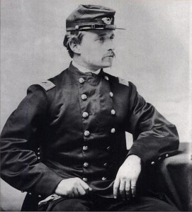 Robert Gould Shaw (1837-1863) was a lieutenant in the 2nd Mass and later the famed colonel of the 54th Mass