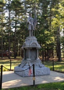 Carver monument, built 1910