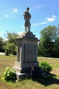 Hanson monument, built 1906