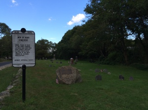 Men of Kent Cemetery, Scituate