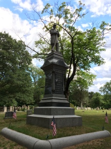 Marshfield monument, built 1889