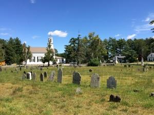 Pembroke Center Cemetery, established c. 1712