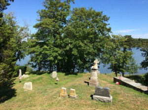 Cohasset's Central Cemetery is splendidly kept and has some stunning views