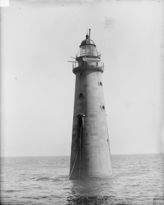 The second Minot's Ledge Light c. 1890. Library of Congress photo.